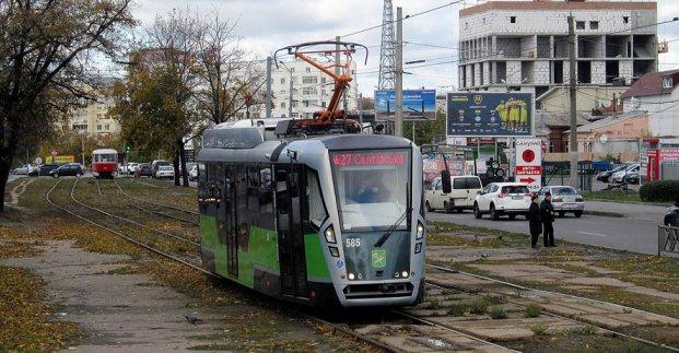 Трамвай №27 временно изменит маршрут движения