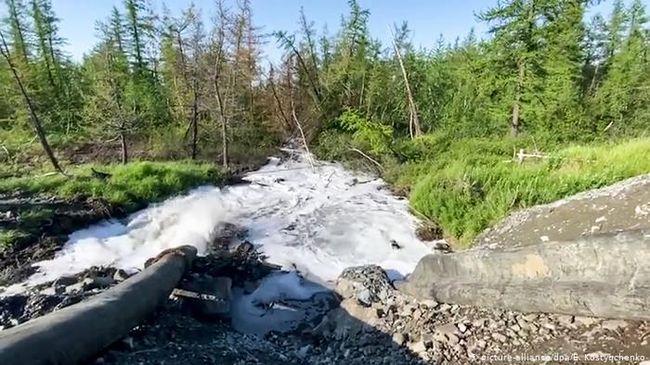 Норникель обвиняют в сокрытии сброса отходов в тундру