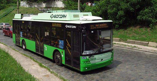 Троллейбус №11 изменит маршрут