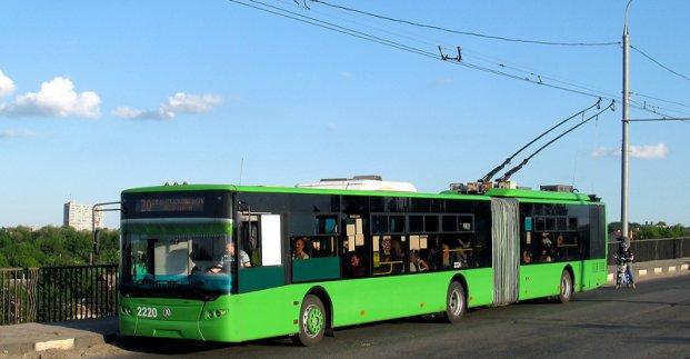 Тролейбуси №20 і 31 два тижні не ходитимуть, а №19 і 35 - курсуватимуть за зміненим маршрутом