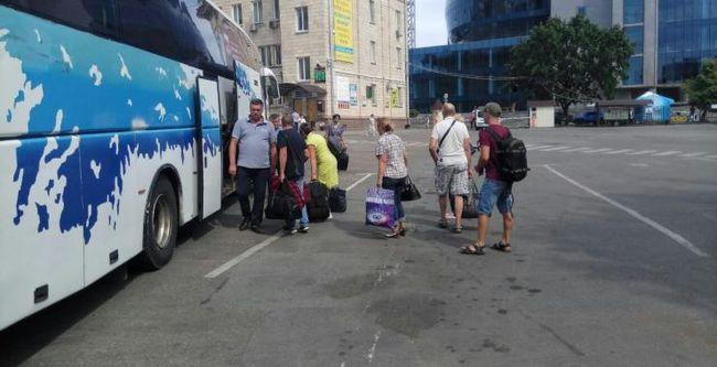 В Донецкую область восстановили движение автобусов из Харькова