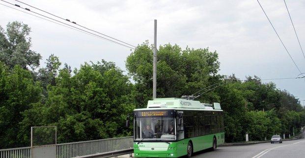 Тролейбус №11 ходитиме за зміненим маршрутом