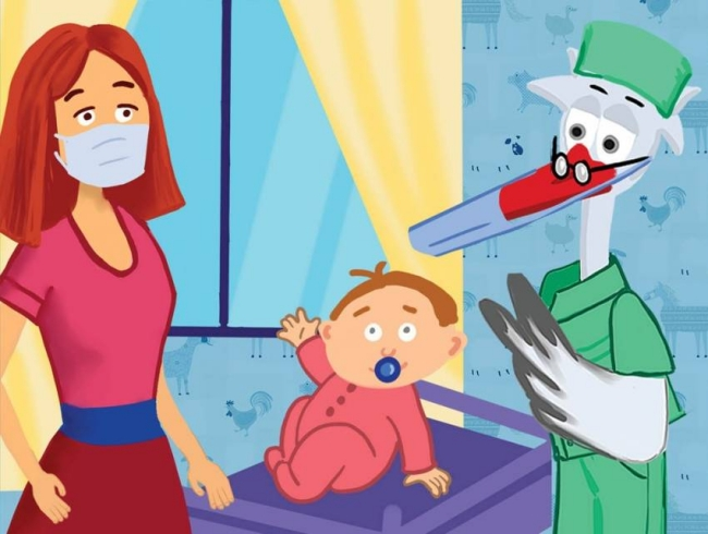 Коронавірус у дитини: як запідозрити хворобу - Комікс