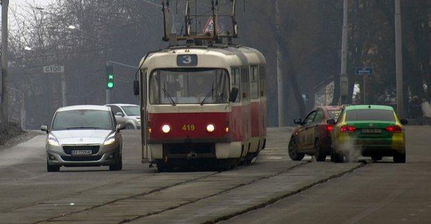 Трамвай №3 тимчасово ходить за іншим маршрутом