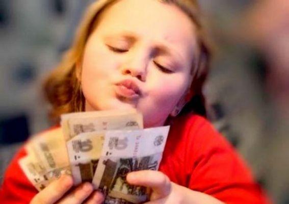 с какого возраста говорить ребенку о деньгах взять